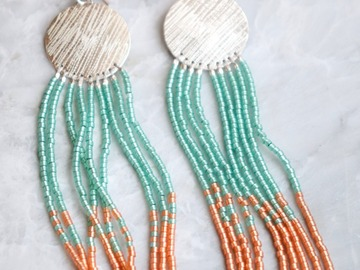 Selling: Textured Fringe Earrings
