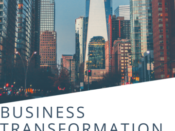 Coaching Session: Business Transformation Coaching