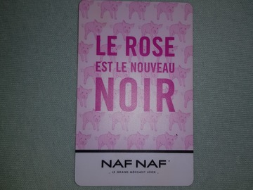 Vente: Carte cadeau Naf Naf (30€)