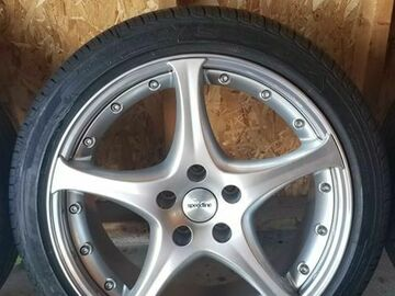 Selling: 18x8.5 Speedline Corse 2 piece Audi Wheels