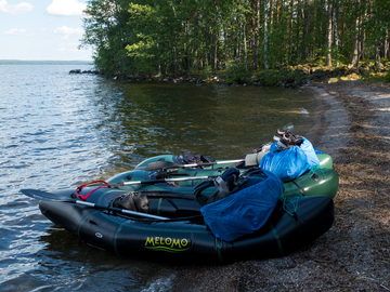 Hyr ut (per day): Packraft (Alligator 2S XXL)
