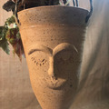 Selling with online payment: Hanging Head Vase with Hanger