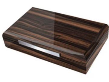 Post Products: Vanderbilt Electronic Humidor - Ebony Wood Finish 120 Cigar Capac