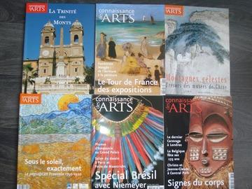 """Vente: Lot n°2 de 6 magazines """"Connaissances des ARTS"""""""