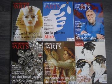 """Vente: Lot n°1 de 6 magazines """"Connaissances des ARTS"""""""