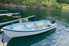 Tilbys: Super Landstedsbåt for Fiske og Øyturer