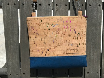 Selling with online payment: Subtle Rainbow Cork Purse