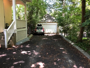 Monthly Rentals (Owner approval required): Flat driveway unblocked parking in Brookline MA