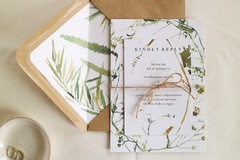 Productos: Meadow Wedding Invitations - 100% Recycled