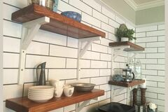 """Selling with online payment: Custom Shelf and Brackets - 24"""" Long"""