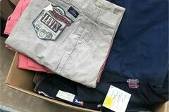 Buy Now: Lot of 180 New with Tags Mens Slacks & Chinos Pants NOS