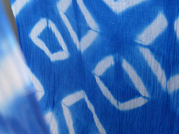 Workshop offering (dates): Stoff färben mit Shibori