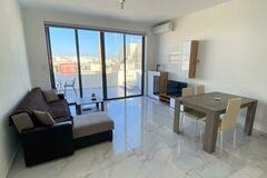Rooms for rent:  2 bedroom 2 bathroom Penthouse discounted from 1000 €