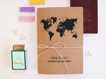 Productos: Personalised Travel Journal - 100% Recycled