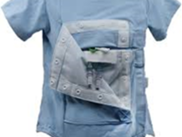 Sell your product: Proprietary bodysuit and tank top safety garments for IV and tubi