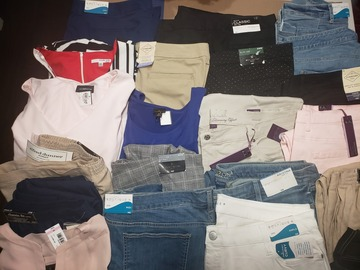 Buy Now: Department Store Women's Plus Sizes Mixed Lot 20 Pieces