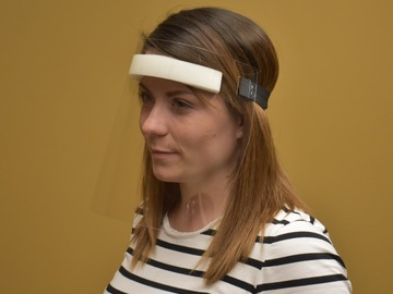 Sell your product: Face Shields with Elastic Strap