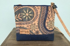 Selling with online payment: Floral Paisley Cork Purse