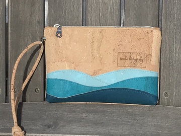 Selling with online payment: Seaside Cork Wristlet