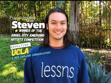 30 minute lessns: 30 min Piano Lessns with Steven (30 min TRIAL LESSON)