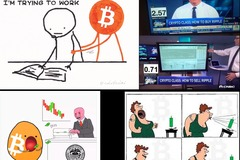 Selling Services (Per Job): I make promotional cryptocurrency memes