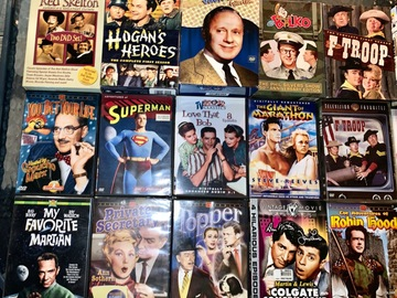 Buy Now: 27 Mixed Vintage DVD TV series box sets and single disks.