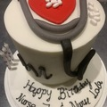"For Sale: Customised 6"" round cake"