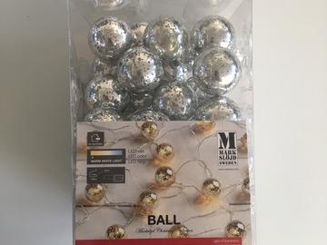 Ilmoitus: Markslöjd Ball-valosarja