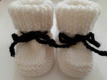 Vente au détail: Paire de Chausson bébé 0/3 mois
