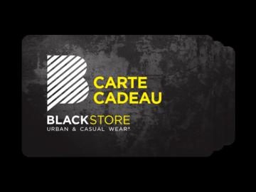 Vente: Carte cadeau BlackStore (80€)