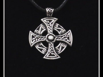 Selling with online payment: Round Celtic Cross Necklace
