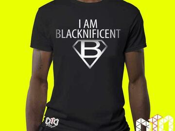 For Sale: DTD Black Apparel Blacknificent T-shirt