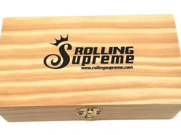 Post Now: Rolling Supreme Wooden Rolling Box - Medium