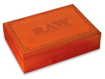 Post Now: RAW NatuRAWL Wooden Rolling Box