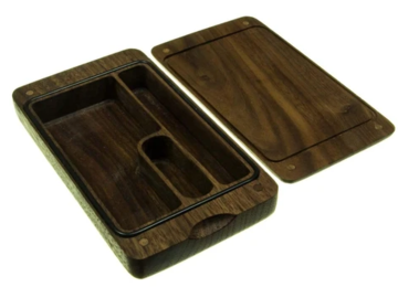 Post Now: Wooden Case for Dry Herbs & Accessories