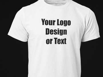 Offering your hiring services: Customised T-shirt printing