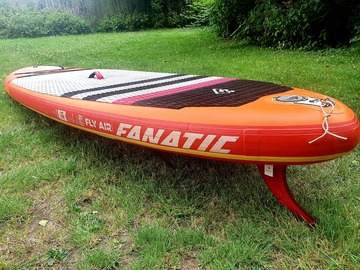 "Vermiete dein Board pro Tag: Fanatic Fly Air Premium 10'8"" iSUP"