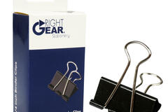 Buy Now: Right Gear – 12 Pack Binder Clips- 1.25″ – Only 60 Cents/Pack