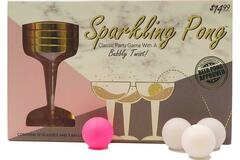 Buy Now: Sparkle Pong – Classic Party Drinking Game – PRE-PRICED $14.99