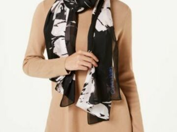 Buy Now: 50pc Women's 'Calvin Klein & INC' Scarf Lot from Bloomingdale's