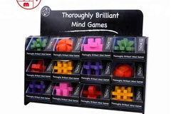 Buy Now: Think IQ Wooden Brain Teaser Puzzles – Pre-Priced $9.99- Only $1