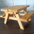 Selling with online payment: Squirrel Feeder Picnic Table