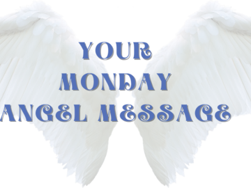 Selling: YOUR MONDAY ANGEL MESSAGE - ROSE ANGEL