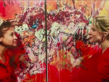 Actualité: les œuvres du duo LLAA seront accrochées au Hilton de La Défense