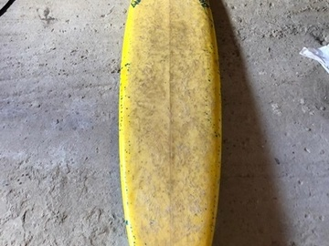 Renting out:  7' gun for big waves (Puerto Escondido limited edition)