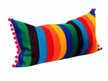 Selling with online payment: Mexican Blanket Pillow