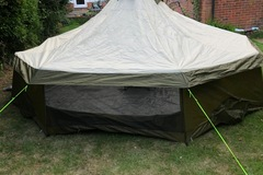 Renting out with online payment: 6-8 person single skin Yurt Style Tent with table