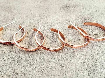 Announcement: Copper Hoops- Limited Quantity!
