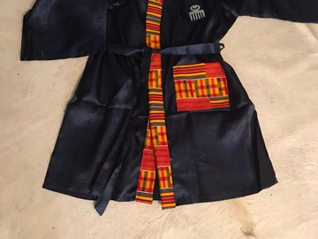 For Sale: Satin Nubian dressing gown