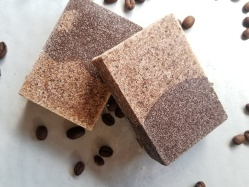Selling with online payment: Cafe Con Leche Salt Soap